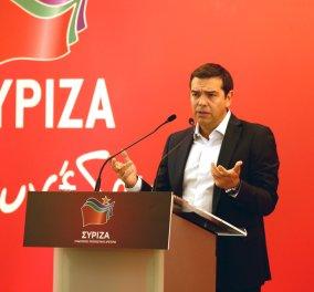 """Αλέξης Τσίπρας: """"Συγκρουόμαστε με το οικονομικό κατεστημένο"""" - Σφοδρή επίθεση στον Κ. Μητσοτάκη - Κυρίως Φωτογραφία - Gallery - Video"""
