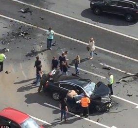 Τροχαίο δυστύχημα για ένα από τα επίσημα αυτοκίνητα του Βλ. Πούτιν - Νεκρός ο αγαπημένος του οδηγός (βίντεο) - Κυρίως Φωτογραφία - Gallery - Video