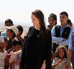 """""""Βάλτε επιτέλους τέλος στον πόλεμο στη Συρία"""": Νέα έκκληση της Αντζελίνα Τζολί προς τους ηγέτες του κόσμου, από την Ιορδανία - Κυρίως Φωτογραφία - Gallery - Video"""
