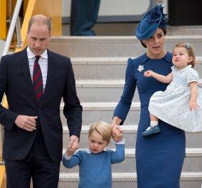 Στον Καναδά ο Πρίγκηπας Γουίλιαμ, η Κέιτ και τα δυο πριγκιπάκια τους - Φωτό από το  πρώτο οικογενειακό ταξίδι - Κυρίως Φωτογραφία - Gallery - Video