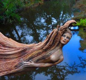 Απίστευτα γλυπτά απόλυτα ενσωματωμένα στη φύση! Φώτο - Κυρίως Φωτογραφία - Gallery - Video