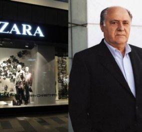 "O ""mr Zara"" Αμάνθιο Ορτέγκα μόλις έγινε ο πλουσιότερος άνθρωπος στον κόσμο - Δεύτερος πια ο Bill Gates - Κυρίως Φωτογραφία - Gallery - Video"