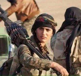 """Οι Τζιχαντιστές σκότωσαν την 22χρονη """"Αντζελίνα Τζολί"""" των Κούρδων - Κυρίως Φωτογραφία - Gallery - Video"""