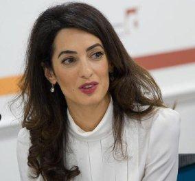"""Αμάλ Κλούνεϊ: Η συγκλονιστική ομιλία στον ΟΗΕ- """"Αισθάνομαι ντροπή που αφήνετε ατιμώρητους τους τζιχαντιστές""""  - Κυρίως Φωτογραφία - Gallery - Video"""