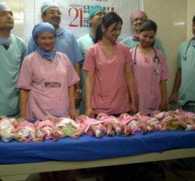 Αυτή η σούπερ γυναίκα γέννησε 11 αγοράκια χωρίς καισαρική!  Δείτε το βίντεο   - Κυρίως Φωτογραφία - Gallery - Video