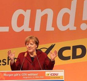 Ήττα της Μέρκελ στο Βερολίνο - Στο χαμηλότερο ποσοστό το κόμμα της από την επανένωση της Γερμανίας - Κυρίως Φωτογραφία - Gallery - Video