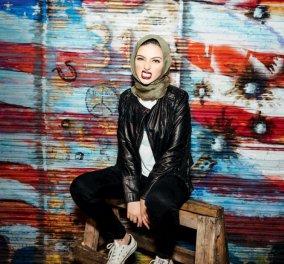 Playboy στροφή 360 μοιρών: Εξώφυλλο μια καλλονή μουσουλμάνα με μαντίλα - Κυρίως Φωτογραφία - Gallery - Video