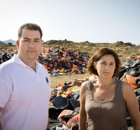 Good News η Ελληνική ομάδα διάσωσης και η Έφη Λατσούδη - Πήραν το βραβείο προσφύγων του ΟΗΕ   - Κυρίως Φωτογραφία - Gallery - Video