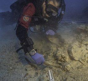 Ναυάγιο Αντικυθήρων: Βρέθηκε ανθρώπινο κρανίο και οστά! Πρόκειται για το τέταρτο στην σειρά  - Κυρίως Φωτογραφία - Gallery - Video
