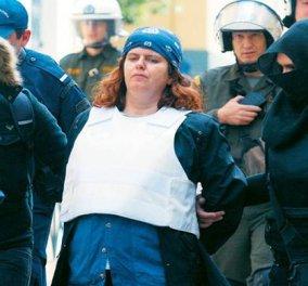 """Η Πόλα Ρούπα η """"λησταρχίνα με την περούκα"""" στην τράπεζα της Μαλεσίνας; -180.000 ευρώ η λεία  - Κυρίως Φωτογραφία - Gallery - Video"""