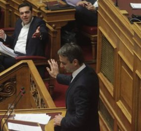 Live από τη Βουλή: Η μάχη Τσίπρα - Μητσοτάκη για την Παιδεία - Διαξιφισμοί, κόντρες & σκληρό ''ροκ'' - Κυρίως Φωτογραφία - Gallery - Video