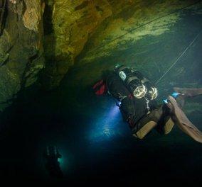 Ταξίδι στα έγκατα της Γης: Το μοναδικό Χράνικα Πρόπαστ, το βαθύτερα πλημμυρισμένο σπήλαιο στον κόσμο - Πάνω από 400 μέτρα βάθος και η εξερεύνηση συνεχίζεται... - Κυρίως Φωτογραφία - Gallery - Video