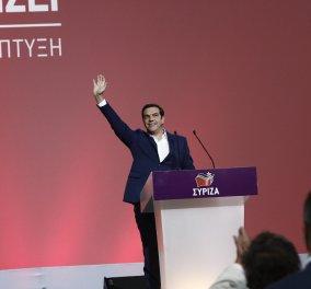 """Ξεκίνησε το 2ο συνέδριο του ΣΥΡΙΖΑ - Αλ. Τσίπρας: """"Έχουμε ιστορική υποχρέωση να κερδίσουμε τον αγώνα"""" - Κυρίως Φωτογραφία - Gallery - Video"""