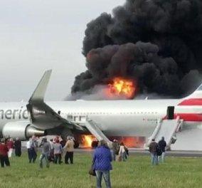 Τρόμος στο Σικάγο: Αεροπλάνο πήρε φωτιά την ώρα την ώρα της απογείωσης - Δείτε το συγκλονιστικό βίντεο  - Κυρίως Φωτογραφία - Gallery - Video