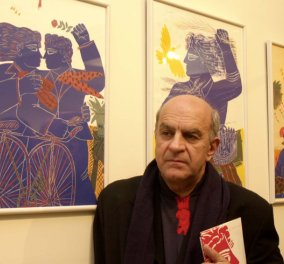 Στόχος διαρρηκτών το σπίτι του ζωγράφου Αλέκου Φασιανού - Άρπαξαν το χρηματοκιβώτιο του και εξαφανίστηκαν  - Κυρίως Φωτογραφία - Gallery - Video