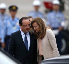 Τριερβελέρ: Γυναίκα απατημένη, ποτέ νικημένη - Ο Ολάντ έλεγε ξεδοντιάρηδες τους Γάλλους: Sms εκδίκησης - Κυρίως Φωτογραφία - Gallery - Video