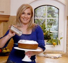 Φανταστική τούρτα Cookie Crunch με παστέλι και ροδάκινα της αγαπημένης Ντίνας Νικολάου - Κυρίως Φωτογραφία - Gallery - Video