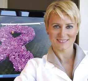 Νατάσα Παζαΐτη: Νέα δημόσια εμφάνιση σε εκδήλωση για τον καρκίνο του μαστού - Κυρίως Φωτογραφία - Gallery - Video