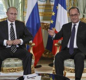 Νέες αποκαλύψεις για τον διάλογο του Β. Πούτιν με τον Φρ. Ολάντ για το Grexit από τον συγγραφέα του βιβλίου του Γάλλου προέδρου - Κυρίως Φωτογραφία - Gallery - Video