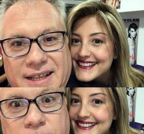 Ράνια Τζίμα: Η τηλεοπτική της επιστροφή μετά την γέννα - Με selfie & χαμόγελα στο πλατό - Κυρίως Φωτογραφία - Gallery - Video