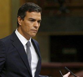 Παραιτήθηκε ο ηγέτης των Σοσιαλιστών της Ισπανίας Πέδρο Σάντεθ - Ανοίγει ο δρόμος για το σχηματισμό κυβέρνησης - Κυρίως Φωτογραφία - Gallery - Video
