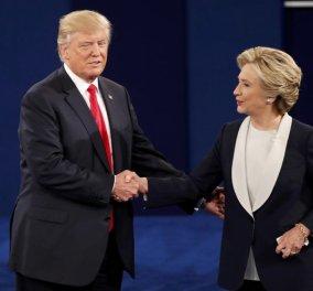 Καρέ - καρέ το δεύτερο debate Τραμπ- Χίλαρι: Σύγκρουση χωρίς νικητή για mails, βίντεο, τρομοκρατία - Κυρίως Φωτογραφία - Gallery - Video
