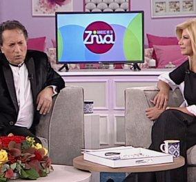 Μάκης Χριστοδουλόπουλος στην Ζήνα Κουτσελίνη - Μια συνέντευξη όλα τα λεφτά: Είμαι τσιγγάνος & έκλεψα την γυναίκα μου στα 14 - Κυρίως Φωτογραφία - Gallery - Video