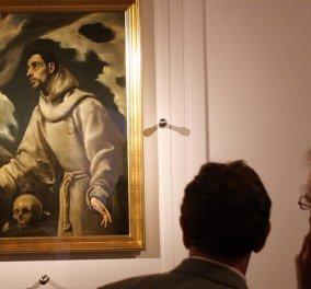 Μια κρυμμένη υπογραφή του Ελ Γκρέκο στα ελληνικά ανακάλυψαν οι συντηρητές μουσείου στην Πολωνία σε έναν υπέροχο πίνακά του  - Κυρίως Φωτογραφία - Gallery - Video