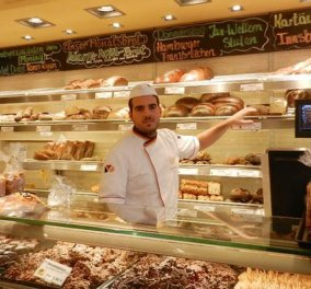 Made in Greece o Σταύρος Ευαγγέλου: Ο καλύτερος νεαρός αρτοποιός της Ευρώπης έμαθε στους Γερμανούς το ελληνικό ψωμί - Κυρίως Φωτογραφία - Gallery - Video
