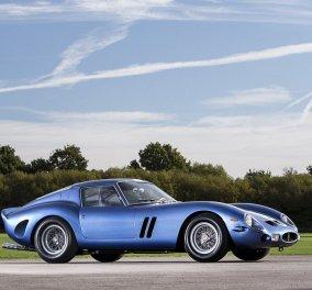 Αυτή η πανέμορφη μπλε Ferrari θα σπάσει τα ταμεία: Δείτε την ιστορία του αυτοκινήτου που πωλείται για 52 εκ. ευρώ! - Κυρίως Φωτογραφία - Gallery - Video
