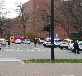 Εισβολή ενόπλου σε πανεπιστήμιο του Οχάιο 1 νεκρος- Τουλάχιστον 7 τραυματίες   - Κυρίως Φωτογραφία - Gallery - Video