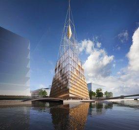 Εκπληκτικό: Δείτε τα σχέδια μιας από τις πιο φουτουριστικές εκκλησίες του κόσμου που ετοιμάζεται για την Κοπεγχάγη  - Κυρίως Φωτογραφία - Gallery - Video