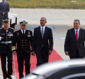 Πάνος Καμμένος για Ομπάμα: Ήταν χαρούμενος που ήρθε στην Ελλάδα - Προσωπική του επιλογή ως τελευταίος προορισμός σαν Πρόεδρος ΗΠΑ - Κυρίως Φωτογραφία - Gallery - Video