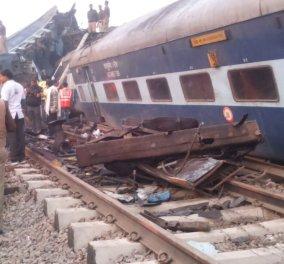 Τραγωδία στην Ινδία: Τουλάχιστον 91 νεκροί από εκτροχιασμό τρένου κοντά στην Κανπούρ (βίντεο, φωτό) - Κυρίως Φωτογραφία - Gallery - Video