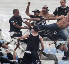 Άγριο ξύλο και κόλαση στην Πόλη πριν των αγώνα Μπεσίκτας - Νάπολη: Τα σπασαν & στην Σεβίλλη οι Ντιναμό - Κυρίως Φωτογραφία - Gallery - Video