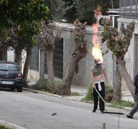 Σοβαρά επεισόδια στο Πολυτεχνείο: Βανδαλισμοί & φωτιές - Κλειστή η Πατησίων - Κυρίως Φωτογραφία - Gallery - Video
