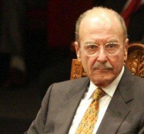 Έφυγε από τη ζωή ο πρώην Πρόεδρος της Δημοκρατίας Κωστής Στεφανόπουλος - Κυρίως Φωτογραφία - Gallery - Video