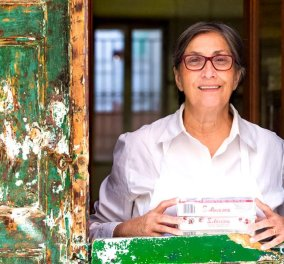 Ντίνα Συκουτρή η topwoman-κυρά των λουκουμιών: «Το λουκούμι είναι ελληνικό, το πρωτόφτιαξαν Χιώτες»  - Κυρίως Φωτογραφία - Gallery - Video
