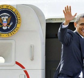 O Ομπάμα στην Αθήνα: Βήμα - βήμα όλη η επίσκεψη - Η Ακρόπολη, το Σταύρος Νιάρχος, τα δώρα για την Ελλάδα & τα μέτρα ασφαλείας - Κυρίως Φωτογραφία - Gallery - Video