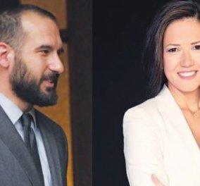 Δημήτρης Τζανακόπουλος - Στέλλα Γκαντώνα: Η δημοσιογράφος σύντροφος του νέου κυβερνητικού εκπροσώπου  - Κυρίως Φωτογραφία - Gallery - Video