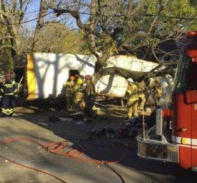 Οδηγός λεωφορείου έριξε το σχολικό πάνω σε δέντρο: ''Είστε έτοιμοι να πεθάνετε;'' είπε στους μαθητές δημοτικού  - Κυρίως Φωτογραφία - Gallery - Video