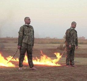Φρικιαστικό βίντεο: Τζιχαντιστές καίνε ζωντανούς Τούρκους στρατιώτες - Κυρίως Φωτογραφία - Gallery - Video