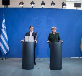 Μέρκελ σε Τσίπρα: ''Εδώ δεν είναι ο τόπος που λαμβάνονται αποφάσεις'' - Κυρίως Φωτογραφία - Gallery - Video