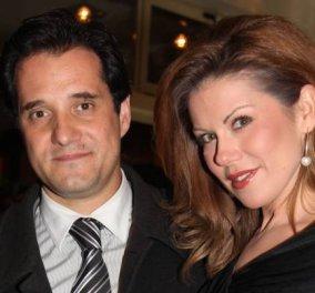 Φωτό: O Άδωνις Γεωργιάδης με την Ευγενία Μανωλίδου αγκαλιά στα χιόνια - Κυρίως Φωτογραφία - Gallery - Video