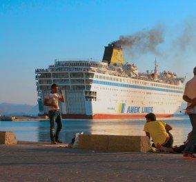 Αναστέλλεται η απεργία της ΠΝΟ - Συνεδρίασαν σήμερα, στη σκιά των σοβαρών επεισοδίων στο λιμάνι του Ηρακλείου - Κυρίως Φωτογραφία - Gallery - Video