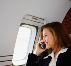 Τέλος στη λειτουργία πτήσης στα κινητά: Πώς με απόφαση των ΗΠΑ θα μιλάμε κανονικά!!!!! - Κυρίως Φωτογραφία - Gallery - Video