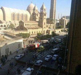Τρόμος και στο Κάιρο - 22 νεκροί από έκρηξη κοντά σε καθεδρικό ναό των Κοπτών - Κυρίως Φωτογραφία - Gallery - Video