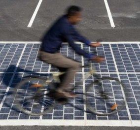 1 ολόκληρο χιλιόμετρο! O πρώτος φωτοβολταϊκός δρόμος κόστους 5 δισ. ευρώ - Δείτε φωτό & βίντεο  - Κυρίως Φωτογραφία - Gallery - Video