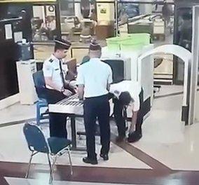 Βίντεο : Πιλότος μεθυσμένος βαδίζει & παραμιλά, έτοιμος να πετάξει με 154 επιβατες! - Κυρίως Φωτογραφία - Gallery - Video