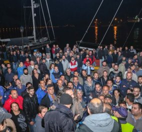 Ηράκλειο: Σε πεδίο μάχης το λιμάνι μετά την 8η μέρα απεργίας – Λύνουν τα πλοία  μόνοι τους οι αγρότες - Κυρίως Φωτογραφία - Gallery - Video